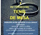 Huete organiza el VI Torneo de Bádminton y XV Campeonato de Tenis de Mesa