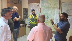 Junta y Gobierno de España resaltan la importancia de la coordinación para hacer frente a los incendios forestales