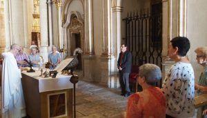 La Corporación Municipal de Cuenca cumple con el Voto a la Virgen de las Nieves asistiendo a la misa en su honor