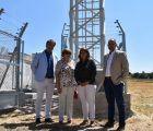 La Junta destaca la instalación de antenas de 4G alimentadas con fibra óptica para facilitar la migración en el futuro a la tecnología 5G