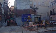 Las máquinas ya trabajan en la remodelación de la Plazuela de Don Pedro