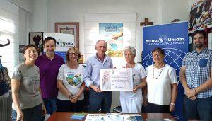 Manos Unidas recibe la recaudación solidaria de las visitas a la villa romana de Noheda