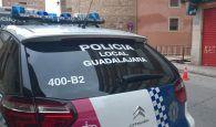 Aparca el coche en Guadalajara, tras tener un accidente, en el garaje donde no debía y fue detenido por quebrantamiento de condena por orden de alejamiento