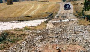 ASAJA Cuenca alerta del estado en el que han quedado los caminos en Villalba del Rey y solicita la actuación urgente de las Administraciones