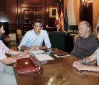 Canales trasmite a la Plataforma Abraza el Infantado el compromiso del director general de Bellas Artes de recibirles a primeros de octubre
