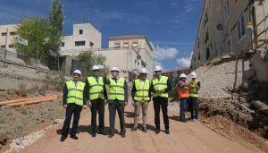 Comienzan las obras de construcción de aparcamiento de la calle Astrana Marín