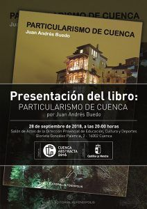 Cuenca Abstracta presenta el libro Particularismo de Cuenca