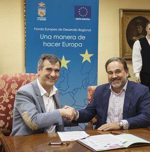 El Ayuntamiento de Guadalajara suscribe el contrato con la empresa que recuperará la ribera del río Henares