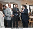El consejero de Sanidad destaca la renovación que está experimentando el Hospital de Guadalajara y que se completa con el estreno de su nueva cafetería