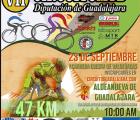 El domingo 23 en Aldeanueva de Guadalajara, séptima prueba del Circuito MTB Diputación de Guadalajara