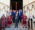 El Pendón de Alfonso VIII regresa a la Catedral de Cuenca donde es custodiado el resto del año