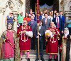 El Pendón del Rey Alfonso VIII ya se encuentra en el Ayuntamiento