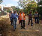 El presidente de la Diputación visita los pueblos afectados por el temporal de esta noche en Guadalajara