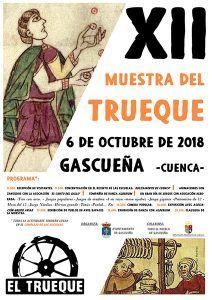 El pueblo de Gascueña sigue implicándose y trabajando para sacar adelante su XII Muestra del Trueque