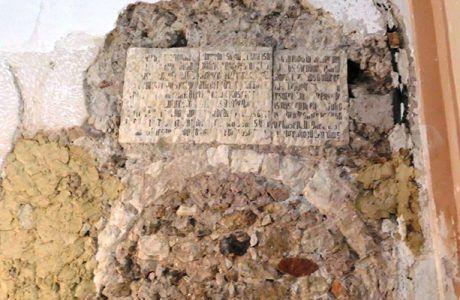 Hallazgo arqueológico en las obras de 'Restauración de la Iglesia de San Nicolás de Bari' que podría ser del siglo XII