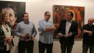 Inaugurada en el Centro Aguirre la exposición de José María Albareda