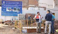 La remodelación de la Plazuela de Don Pedro avanza a buen ritmo