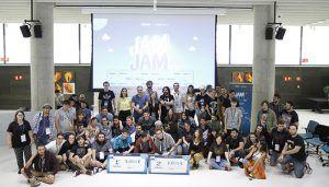 La segunda Game Jam de Taleltum Telefónica reúne a más de 100 jóvenes desarrolladores y diseñadores de videjuegos