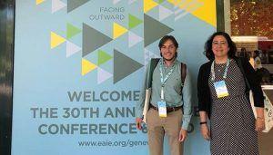 La UCLM fortalece sus relaciones en la feria de la Asociación Europea de Educación Internacional