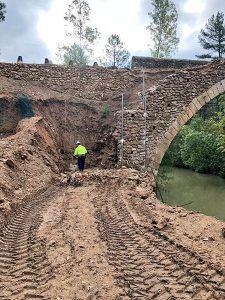 Las obras de rehabilitación del Puente del Chantre evitan la catástrofe tras las últimas lluvias