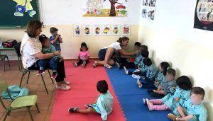 Los alumnos de Infantil del colegio Rafael López de Haro retoman su actividad lectiva con normalidad en el CEPA