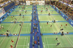 Más de 1.200 deportistas participan en Guadalajara desde el lunes en los Campeonatos Europeos de Badminton Senior