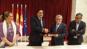 Mariscal formaliza la cesión de las iglesias de San Miguel y San Andrés para la exposición de Bill Viola