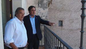 Mariscal recibe al director de cine Benito Rabal, invitado especial del Festival de Cortometrajes FICCIón-20