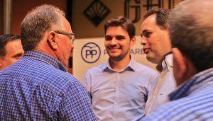 """Núñez """"Es fundamental que los afiliados se conviertan en el centro de la acción política del Partido Popular de Castilla-La Mancha"""""""