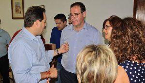 Núñez participa en un encuentro con afiliados y simpatizantes en San Clemente