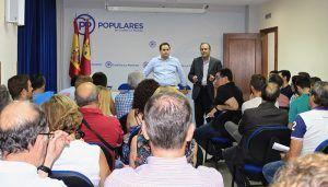 Núñez se muestra convencido de que escuchando e ilusionando a los afiliados, el PP-CLM puede recuperar la Junta y ayudar a Pablo Casado a echar a Pedro Sanchez