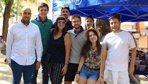 Nuevas Generaciones participa en la Paella Solidaria del PP Guadalajara