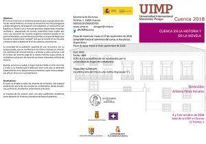Nuevo encuentro en la UIMP de Cuenca con Escritores con la Historia