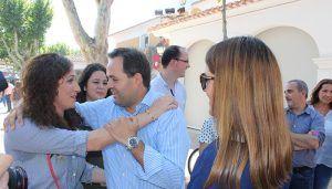 Paco Núñez tiende la mano a los posibles candidatos para que se sumen a su proyecto de unidad, ilusión y futuro