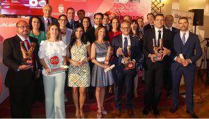 Paula Orozco Garvi, de Viveros La Mezquita, ganadora del Premio Joven Empresario AJE Cuenca