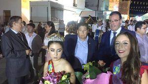 Prieto inaugura la remodelación de la Fuente del Pilar de Hontanaya