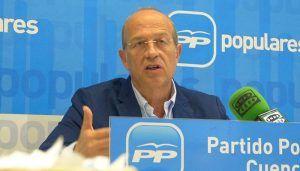 """Tortosa acusa a Page de """"deslealtad institucional y ninguneo a Cuenca"""" al negarse a recibir a Benjamín Prieto"""