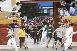Tres personas heridas en el cuarto y último encierro de las Fiestas de Guadalajara
