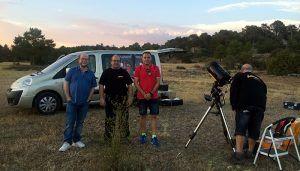 Unas tres mil personas han participado en las actividades de promoción del Parque Astronómico de la Serranía de Cuenca durante este verano