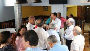 Velázquez reclama que el dinero que genera el trasvase se destine a inversiones en los municipios ribereños