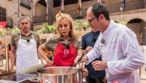 2.753.000 espectadores vieron el episodio de 'MasterChef Celebrity' grabada en Sigüenza