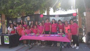 Aires feministas en la Plaza del Pueblo de Cabanillas