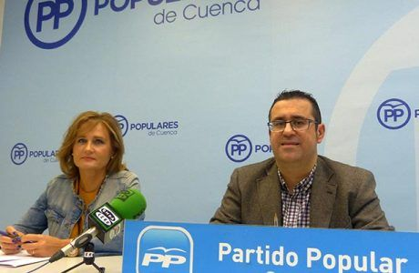 """Algaba """"Lo antipatriótico y lo desleal hacia España y hacia Cuenca sería apoyar los Presupuestos de Sánchez y Podemos"""""""