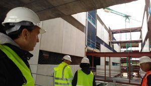 APYMEC visitas varias obras de construcción para asesorar en prevención