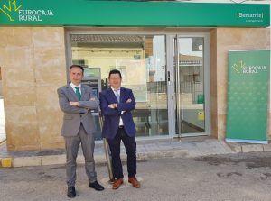Beniarrés cuenta con servicio financiero gracias a Eurocaja Rural