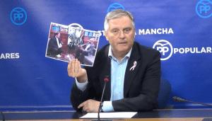Cañizares indica que el futuro de Castilla-La Mancha no puede depender de los pactos del PSOE con quienes quieren romper España