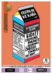 Carolina Durante, Los Hermanos Cubero, Bigott, Yawners y Paff Boom's cierran el cartel más ambicioso de la historia del festival Ke Kaña