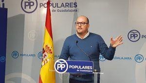 """Castillo """"Page es el pasado y su proyecto está agotado, mientras que Paco Núñez es el futuro de una Castilla-La Mancha próspera y moderna"""""""