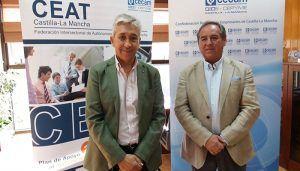 CEAT C-LM y CECAM planifican acciones para la difusión del Plan Regional de Autoempleo