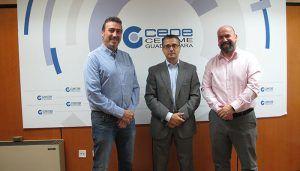 CEOE-Cepyme Guadalajara firma un convenio de colaboración con las empresas Recuperaciones Alcarreñas y Ambas Plus para la retirada de residuos